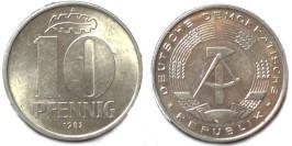10 пфеннигов 1982 «A» ГДР