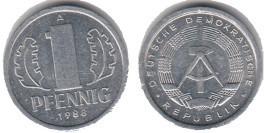 1 пфенниг 1988 «A» ГДР