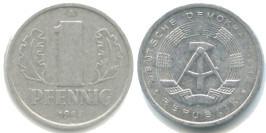 1 пфенниг 1984 «A» ГДР