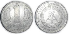 1 пфенниг 1982 «A» ГДР