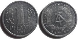 1 пфенниг 1989 «A» ГДР