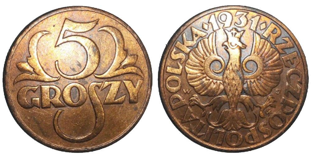 5грошей1931цена каталог монет 5 рублей ссср