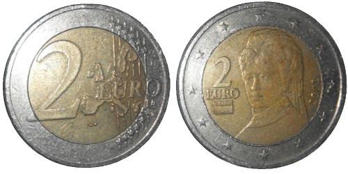 2 евро 2002 Австрия