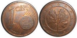 1 евроцент 2004 «D» Германия