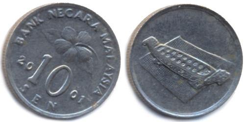10 сен 2001 Малайзия