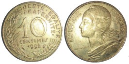 10 сантимов 1992 Франция