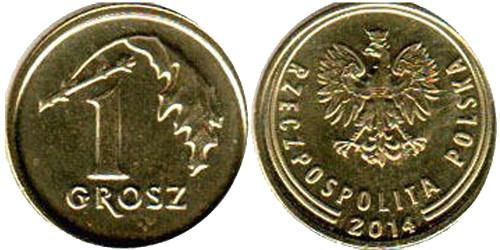 1 грош 2014 Польша