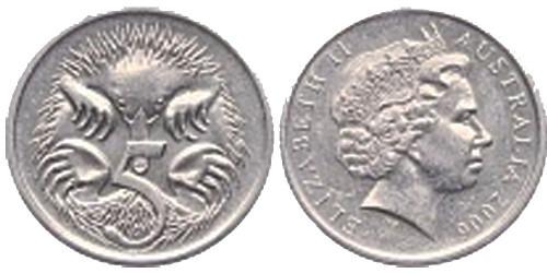 5 центов 2006 Австралия