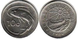 10 центов 1986 Мальта