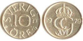 10 эре 1979 Швеция