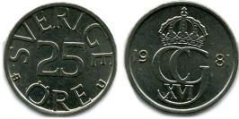 25 эре 1981 Швеция