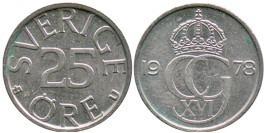 25 эре 1978 Швеция