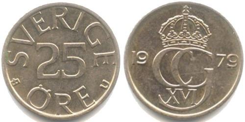 25 эре 1979 Швеция