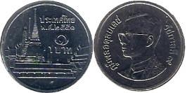 1 бат 2008 Таиланд