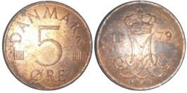 5 эре 1979 Дания