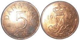5 эре 1988 Дания