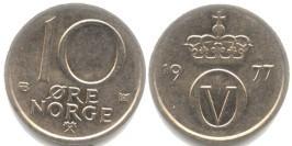 10 эре 1977 Норвегия