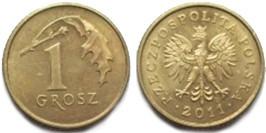 1 грош 2011 Польша