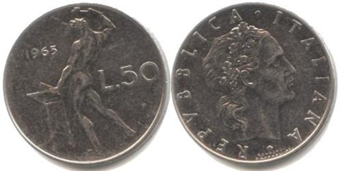 50 лир 1963 Италия