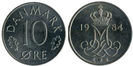 10 эре 1984 Дания