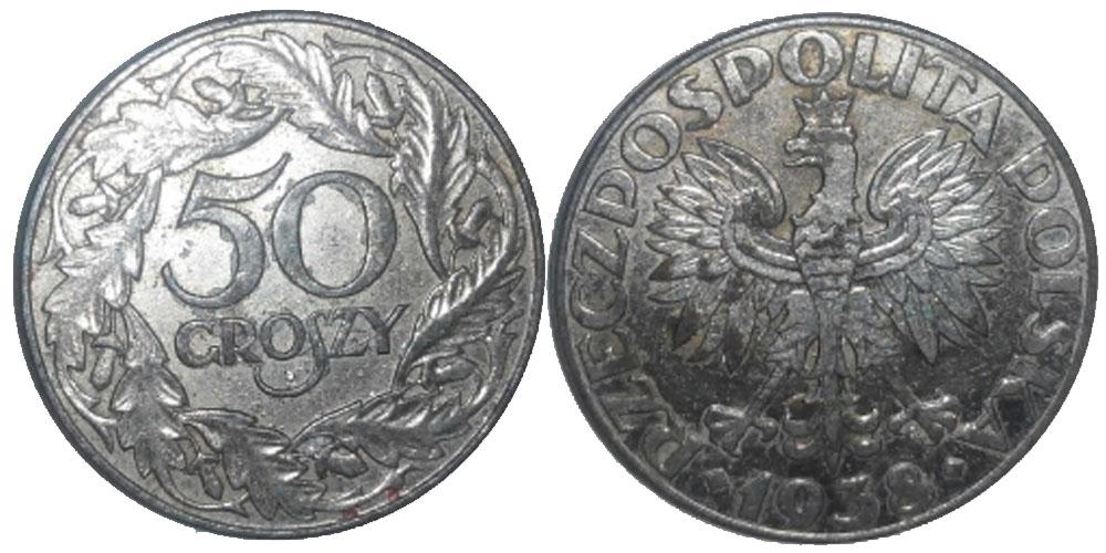 Монета 50 грошей 2008 года цена в беларуси 5 копеек 1765 года