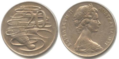 20 центов 1971 Австралия