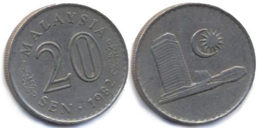 20 сен 1982 Малайзия