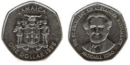 1 доллар 1996 Ямайка