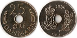 25 эре 1986 Дания