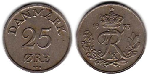 25 эре 1953 Дания