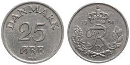 25 эре 1954 Дания