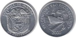 1 сентесимо 2000 Панама