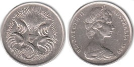 5 центов 1980 Австралия