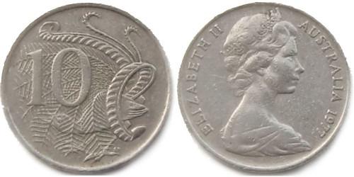 10 центов 1977 Австралия