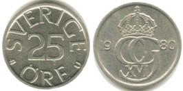 25 эре 1980 Швеция