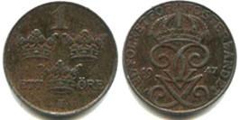 1 эре 1947 Швеция