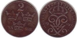 2 эре 1949 Швеция