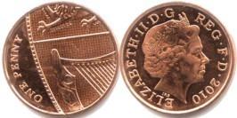 1 новый пенни 2010 Великобритания