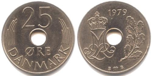 25 эре 1979 Дания
