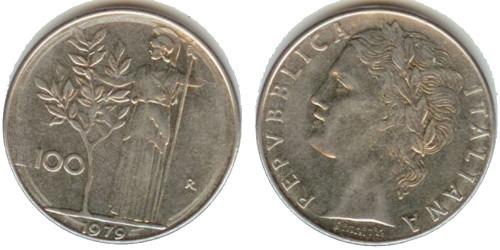 100 лир 1979 Италия