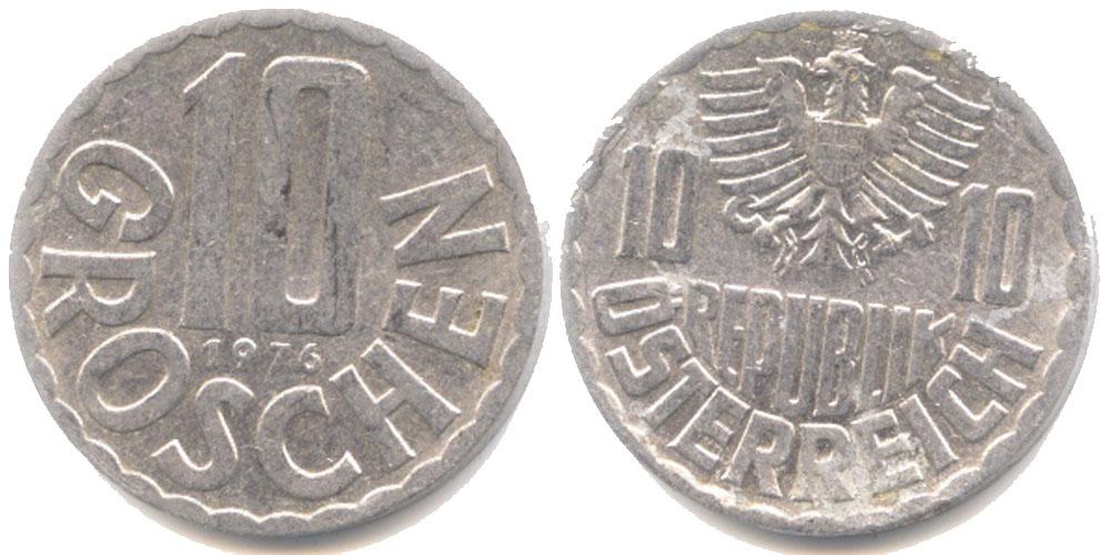 10 groszy 1976 цена купить мешок юбилейных монет