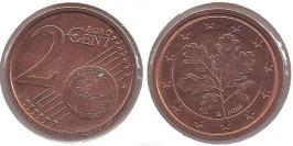 2 евроцента 2003 «G» Германия