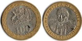 100 песо 2006 Чили
