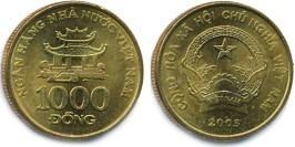 1000 донг 2003 Вьетнам
