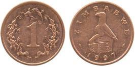 1 цент 1997 Зимбабве UNC