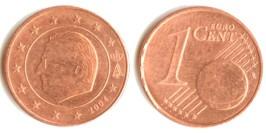 1 евроцент 2004 Бельгия
