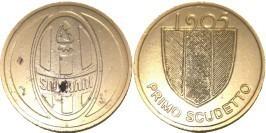 Памятный жетон — Ювентус первый чемпионат 1905
