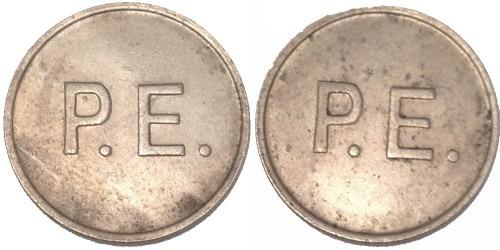 Жетон для фонографа P.E. Великобритания