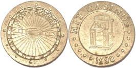 Монетовидный жетон казино 1998 «Nova Gorica»