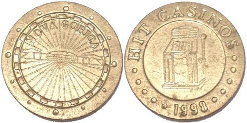 Жетон казино 1998 «Nova Gorica»